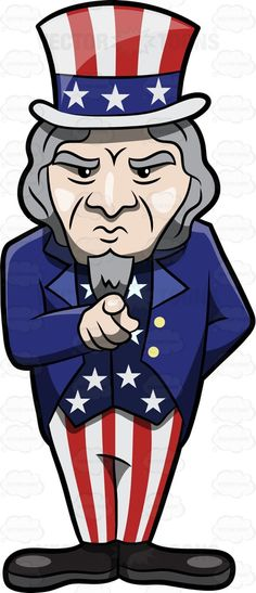 A tough looking and pointing Uncle Sam #America #american #Americangovernment #beard #blue #bowtie #character #costume #fancyhat #fictionalcharacter #fictitiouscharacter #figure #finger #graffiti #grayhair #guy #hat #individual #longhair #male #man #national #nationalpersonification #oldman #pants #point #political #red #SamWilson #SamuelWilson #serious #stars #stern #stripedpants #stripes #tailcoat #tie #UncleSam #unclesamcostume #unclesampicture #unitedstates #USA #vest #yankeedoodle…