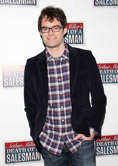 Bill Hader at opening night of Death of a Salesman