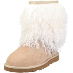 UGG® Australia Womens Sheepskin Cuff Boot                                 fur                    Fit: True to Size                    Features of this item include: Lined, Winter