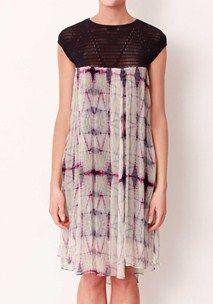 Kasbah Silk Overlay Seamless Dress