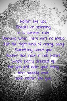 Nothin' Like You ~ Dan + Shay