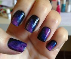Nice 6 Awesome Galaxy Nails Art Designs http://www.designsnext.com/?p=30595