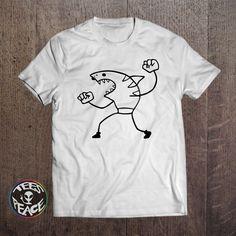 Shark T-shirt, Shark man, Shark shirt, Surfer shirt, Funny tee, Funny Animal Shirt, I Love Sharks, Shark man tshirt, Shark tshirt,Animal tee by Tees2peace on Etsy