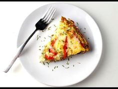 Sausage and Red Pepper Frittata, perfect for brunch! This is so easy, everything made in 1 skillet! | Tastefulventure.com