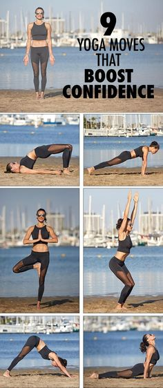 Improve your confidence with these 9 yoga poses. They'll help you stay cool, calm, and collected, so you can get through a high-pressure situation without stressing out. // fitness // yoga moves // positivity // mind and body // stress // Beachbody // BeachbodyBlog.com