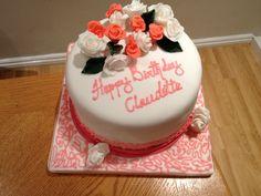 Claudette's 23rd red velvet birthday cake