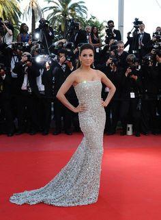 Eva Longoria, Cannes 2010 #redcarpet #dress #gown