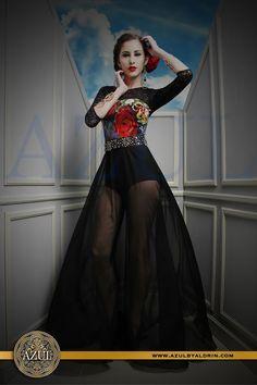 Mexican Colors Collection Azul by Aldrin Ayuso Mérida, Yucatán, México #black #print #fashion #design #style