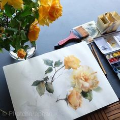 I'm planning to give a class in Zurich, Switzerland. On April Anybody wanna join me? Only 10 seats available! Watercolor Flowers, Watercolor Art, Seat Available, Watercolor Sketchbook, 1 Rose, Zurich, Art For Kids, Make It Yourself, Switzerland