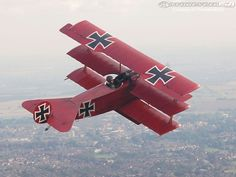 WWI Red Baron Airplane
