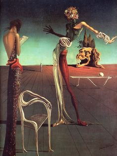 Woman with a Head of Roses. Salvador Dali