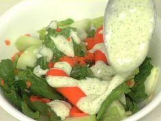Silken Tofu Ranch Dressing,  YUMM!  Great on afternoon veggie snack.