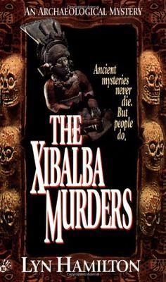 The Xibalba Murders (Archaeological Mysteries, No. 1) by Lyn Hamilton http://www.amazon.com/dp/0425157229/ref=cm_sw_r_pi_dp_wQZ7vb0NACH3H