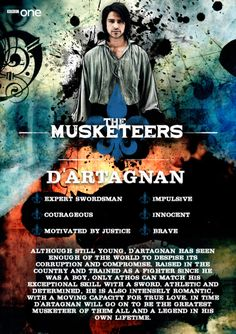 Meet d'Artagnan (Luke Pasqualino) - The Musketeers.