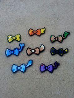 Boucles pour les cheveux ou les noeuds papillons - Pokemon Eeveelution inspirés des arcs