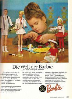 1965 Barbie, Ken und Skipper