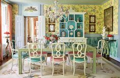 Tour the Exuberant Home of the Designers Behind Madcap Cottage