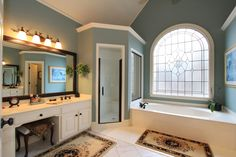 bathroom color...blue / gray?