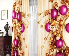 Купить комплект штор ШАРЫ 145х270 (2шт) от производителя Валентина (Россия)