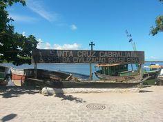 Cais de Santa Cruz Cabralia - Bahia, Brasil