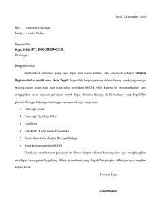 Contoh Surat Lamaran Kerja Pdf Ben Jobs Pdf Application