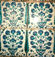 Iznik Tiles: The Harem ~ Topkapi Palace