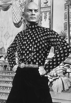"""Yul Brynner in """"The King and I"""" (Rodgers and """"Hammerstein's The King and I), (1956) COUNTRY: United States. DIRECTOR: Walter Lang."""