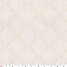 Textured Lattice Fabric by Carousel Designs.
