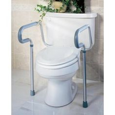 Toilet Safety Rails - Price ( MSRP: $ 45.52Your Price: $33.90Save up to 26% ).