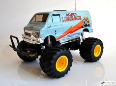 Cool blue Tamiya Lunch Box. Looks great in this colour :)
