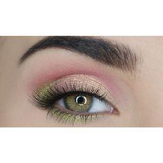Eye makeup which looks fabulous. Makeup 101, Eye Makeup Art, Love Makeup, Makeup Inspo, Makeup Inspiration, Beauty Makeup, Makeup Looks, Hair Makeup, Shimmer Eyeshadow Palette