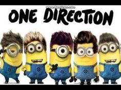 One Direction - Best Song Ever (Minions Voice). This is hilarious(: I love it.