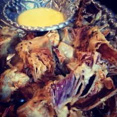 Fried Artichokes with Garlic Aioli - Bourbon Barrel Foods