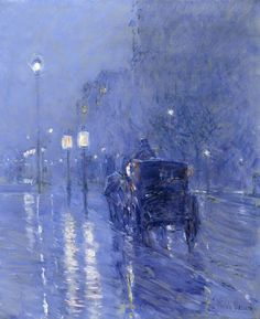 Childe Hassam | Rainy Midnight | Museum of Fine Arts, Houston | Buy Prints Online