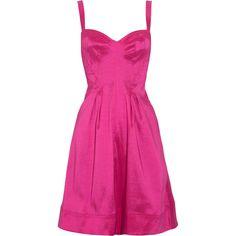 Z Spoke by Zac Posen Stretch-taffeta dress ($230) ❤ liked on Polyvore