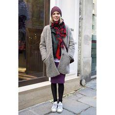 ロングコートやファージャケット。パリの最新スナップより、気になるアウターをチェック。 ( page 11 ) | VOGUE