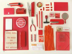 Collection of Red Objects | Things Organized Neatly Style Photography