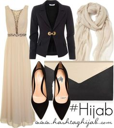 Hijab Fashion 2016/2017: Style | Clothing wise | long dress | Scarf | Purse | High Heels | Feminine | Pretty  Modest Outfit