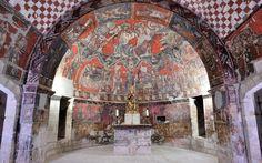 Iglesia de san esteban, Sos del Rey Católico, Aragón, Spain.