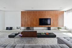 Apto Salvador Cardoso / Zemel + Arquitetos #hometheater