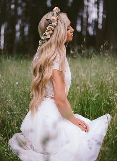Elegant bridal hairstyles for long hair (184)