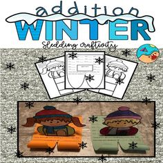 Addition Sums to 18 Craftivity Fun Craft and Addition project Simple assembly first grade fun Seasons Activities, New Years Activities, First Grade Activities, Teaching First Grade, Holiday Activities, Fun Activities, Elementary Teaching, Addition Activities, Classroom Fun