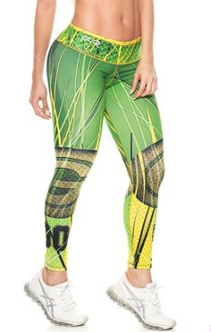 e046ea004c2f9 Denver Broncos Football Leggings NFL Yoga Pants Women's Compression Tights  Moda Fitness, Ropa Deportiva,