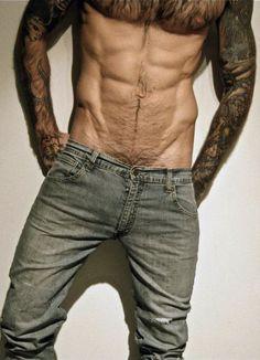 Hairy ricky likes and adores tattooed johnny