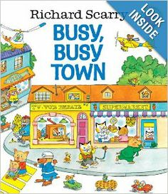 Richard Scarry's Busy, Busy Town: Richard Scarry