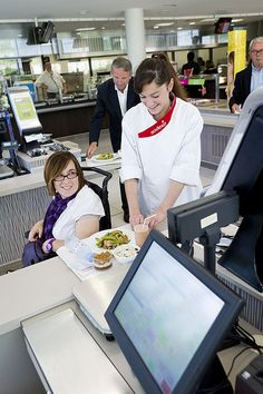 Photo of the week!  Sodexo Honors Disability Employment Month