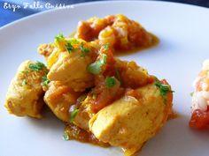 Blancs poulet curry-tomates