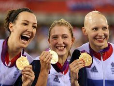 Great Britain's women fulfilled their lifelong dream by claiming a stunning team pursuit gold in a blistering world record at the London 2012 Olympic Velodrome.