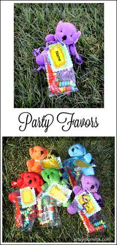 Cute Teddy Bear Party Favors - Artsy Momma