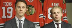"Toews is like ""is it okay to laugh?"" *kane laughs* *toews lets it out*"